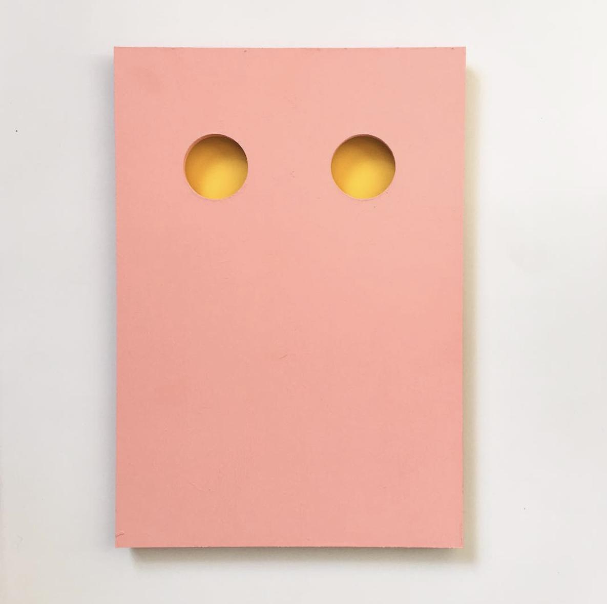 yellow holes