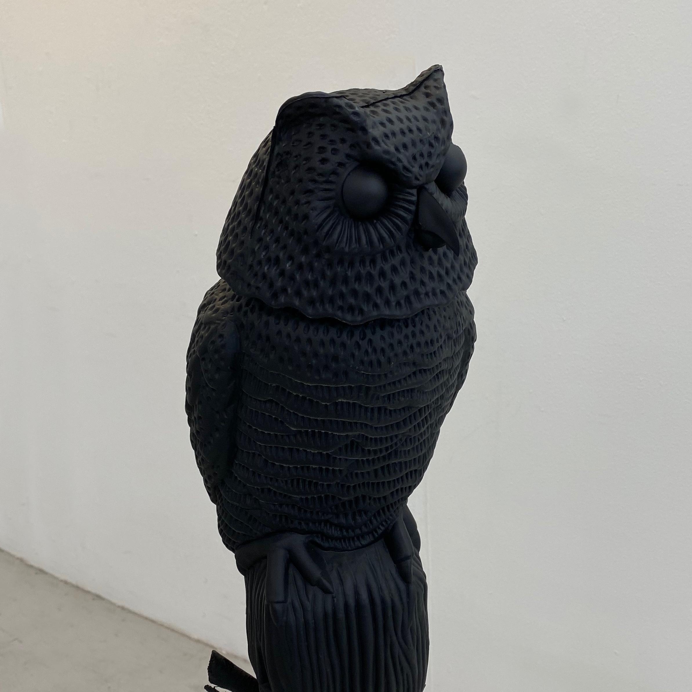 Night Crawlers. 2019. Found objects. Matt Paint.