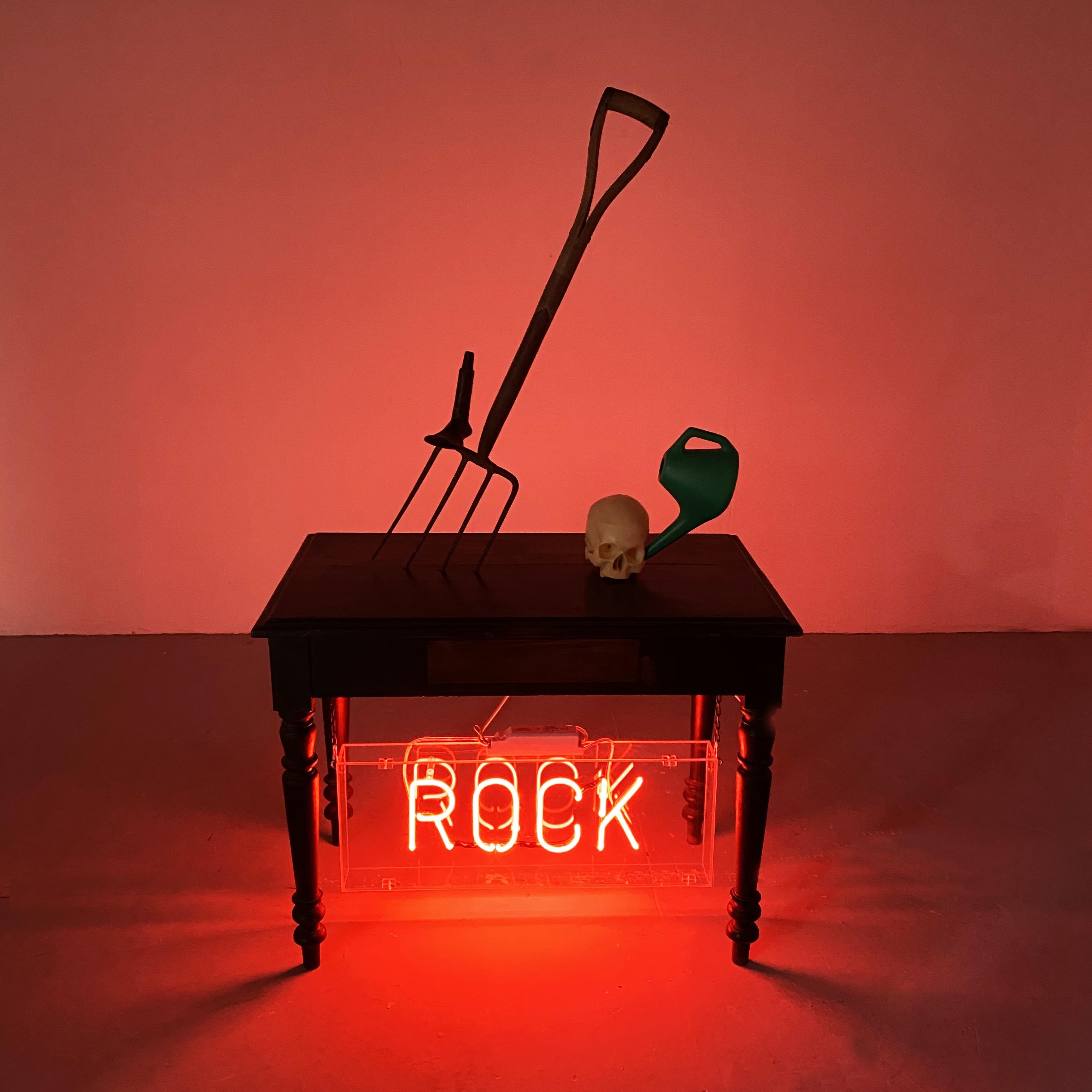 Rock. Installation. 2018