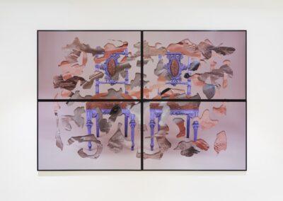 'Strange Strangers' Pigment print on archival matt. Aluminium frame. 182cm x 122cm