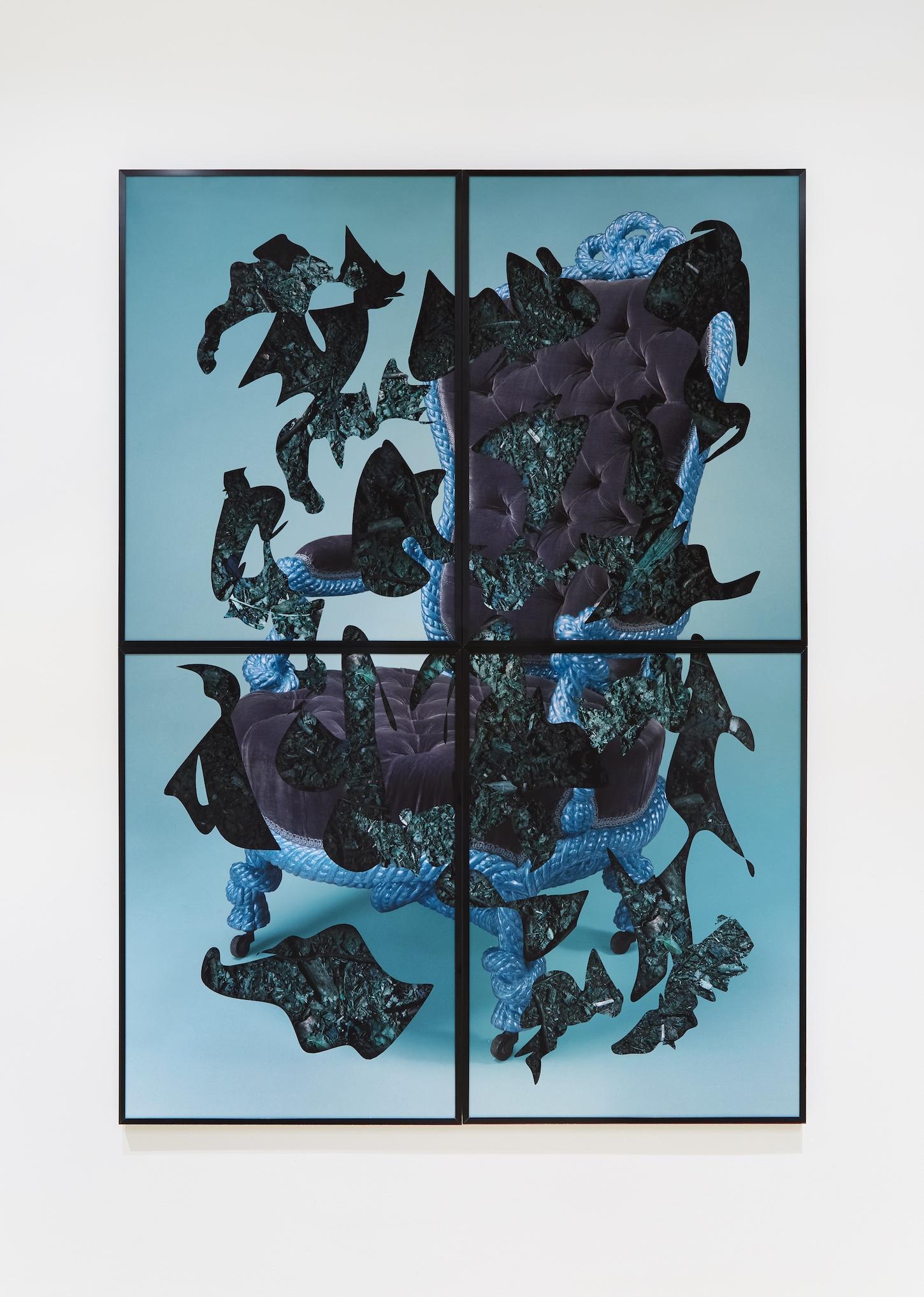 'Deep Down' Pigment print on archival matt. Aluminium frame. 140cm x 100cm